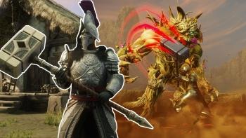 New World stellt mächtige Kriegs-Hämmer